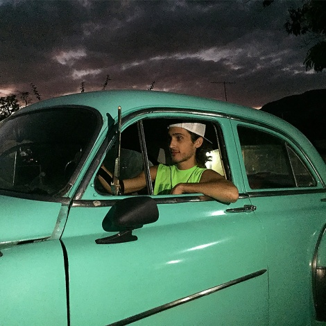 Joy Ride in Cuban Classic Car