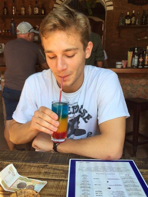 Clark's Rainbow Drink